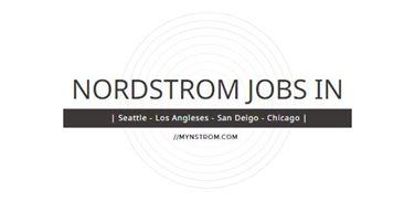 Nordstrom Jobs in