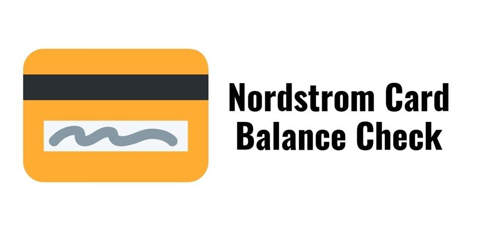 Nordstrom Card Balance Check