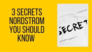 Nordstrom Secrets You Should Know