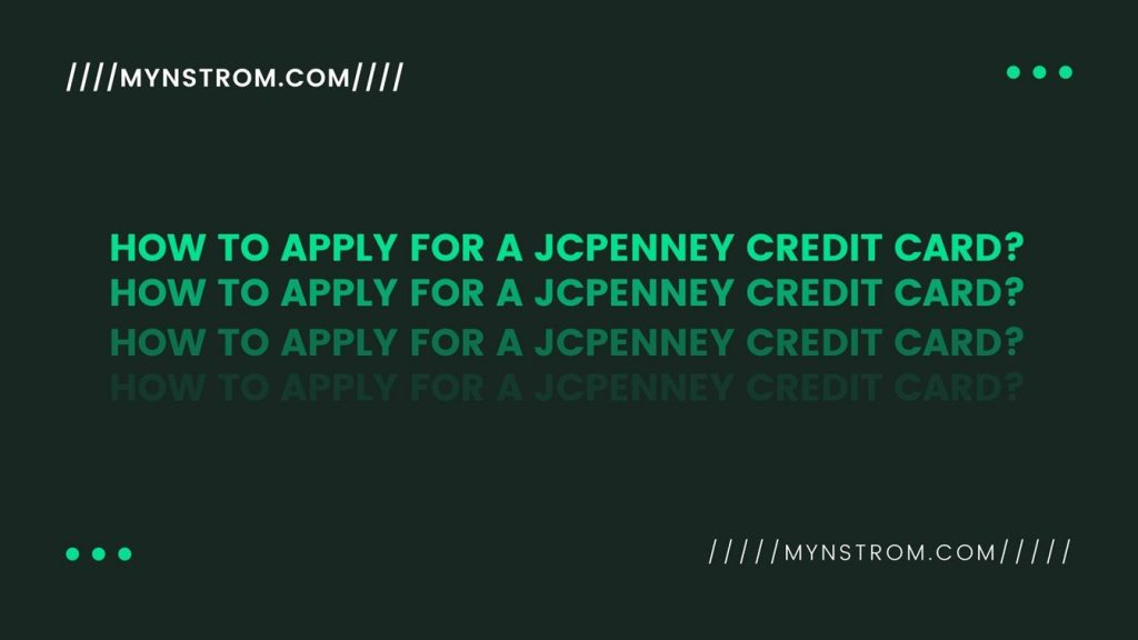 Apply for a JCPenney Credit Card
