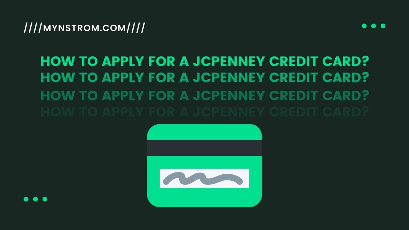 How to Apply for a JCPenney Credit Card