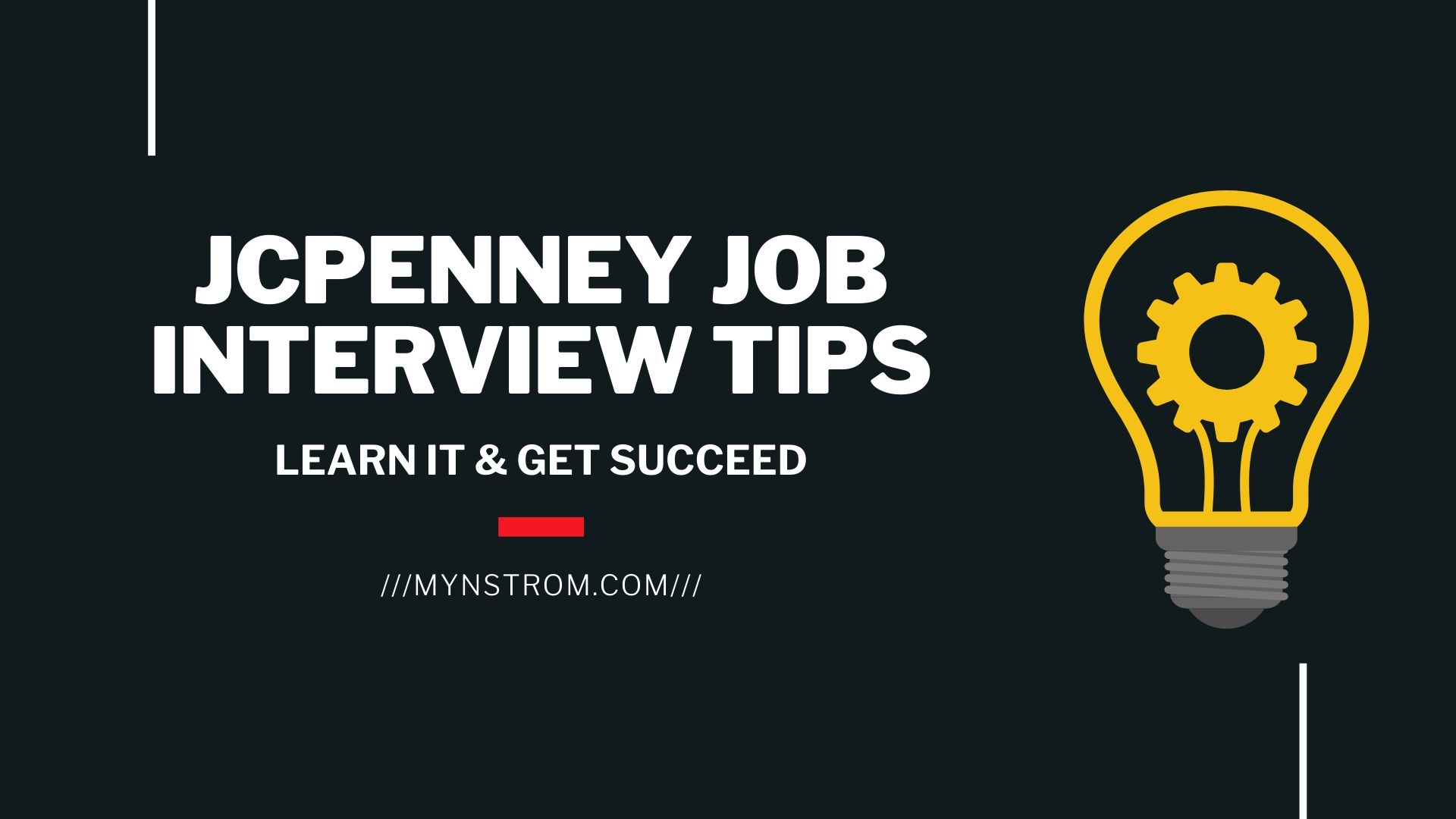 JCP Job Interview Tips