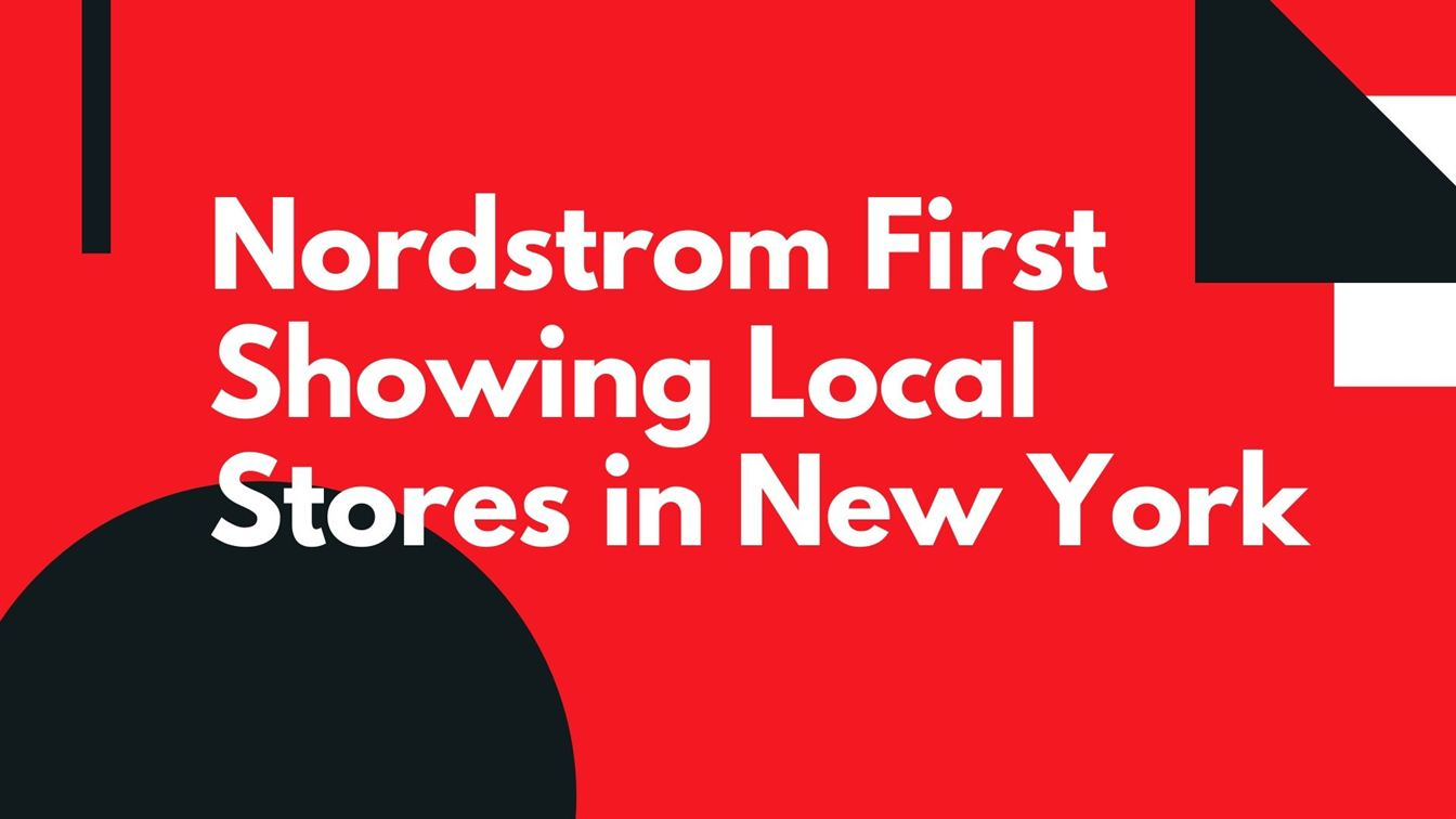 Nordstrom local store in New-York